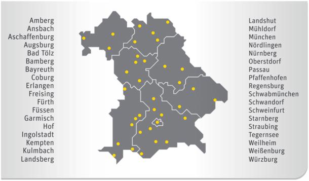 """36 Städte und Gemeinden hat Kabel Deutschland bereits jetzt zur """"WLAN-Stadt"""" ernannt (Bild: Kabel Deutschland)."""