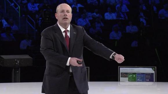 COO Kevin Turner auf Microsofts Partnerkonferenz