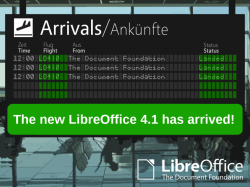 LibreOffice 4.1.2 steht ab sofort zum Download bereit (Bild: TDF).