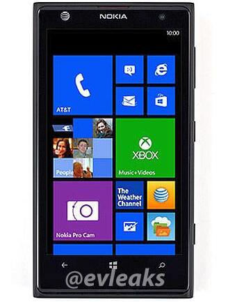 Angebliches Lumia 925 (Bild: @evleaks)