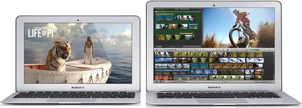 MacBook Air 2013 in 11 und 13 Zoll (Bild: Apple)