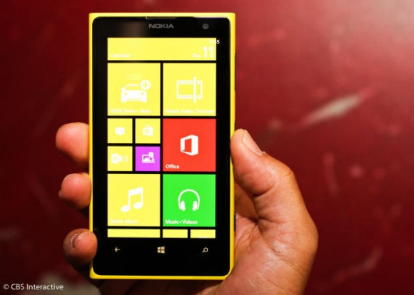 Das Lumia 1020 bringt auch neue Apps mit (Bild: CNET).