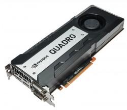 Die Quadro K6000 nutzt erstmals die vollen 2880 Shader-Einheiten des Kepler-Chips GK110 (Bild: Nvidia).