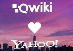 Yahoo kauft Qwiki (Grafik: Qwiki)
