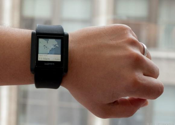 Die Smartwatch WIMM One war nur für Softwareentwickler gedacht (Bild Sarah Tews / CNET).