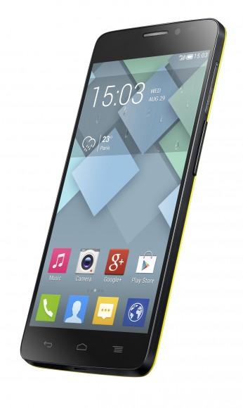 Fast randlos: Alcatel One Touch Idol X (Bild: Alcatel)