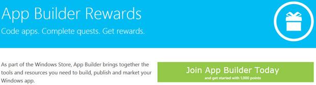 Microsoft App Builder Rewards ist ein Prämienprogramm für Entwickler im Flugmeilen-Stil (Screenshot. News.com)