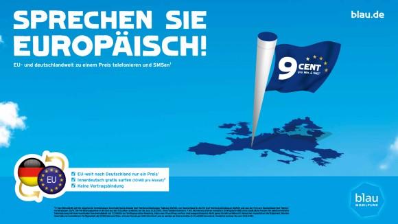 EU-Einheitstarif von Blau.de (Bild: Blau.de)