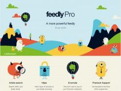 Feedly Pro wird für 5 Dollar pro Monat oder 45 Dollar pro Jahr zusätzliche Funktionen bieten (Screenshot: ZDNet.de).