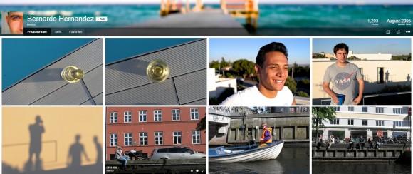 Flickr-Seite des neuen Flickr-Chefs (Screenshot: ZDNet)