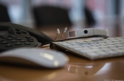 Google Glass im Büro (Bild: Lori Grunin, News.com)