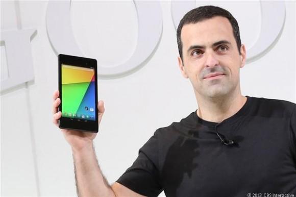 Android-Produktmanager Hugo Barra hat im Juli die zweite Generation von Googles Android-Tablet Nexus 7 vorgestellt (Bild: James Martin / News.com).