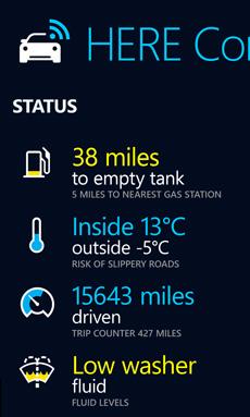 Here Auto Companion (Bild: Nokia)