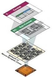 Aufbau eines Cognitive-Computing-Prozessors (Bild: IBM)
