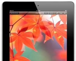 Die Chancen sind hoch, dass der Bildschirm dieses iPad 4 von Samsung stammt (Bild: News.com).