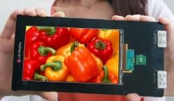 LGs Quad-HD-Display löst 2560 mal 1440 Bildpunkte auf (Bild: LG Display).