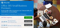 Office 365 Small Business (Bild: Microsoft)