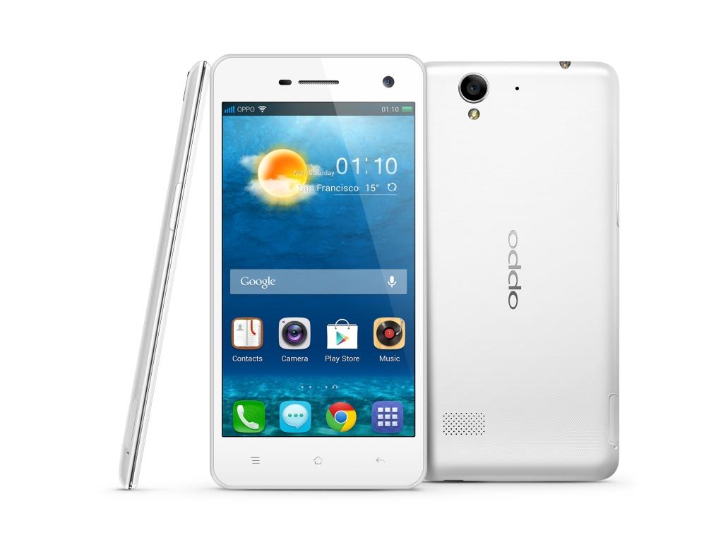 Oppo R819: dünnes Einsteiger-Smartphone für 269 Euro