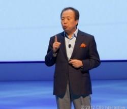 Samsung-CEO J.K. Shin auf der IFA (Bild: CNET)