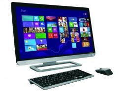 Der Qosmio PX30t besitzt einen 23 Zoll großen Full-HD-Touchscreen (Bild: Toshiba).