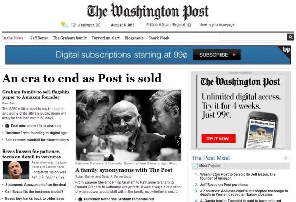 Jeff Bezos kauft Washington Post