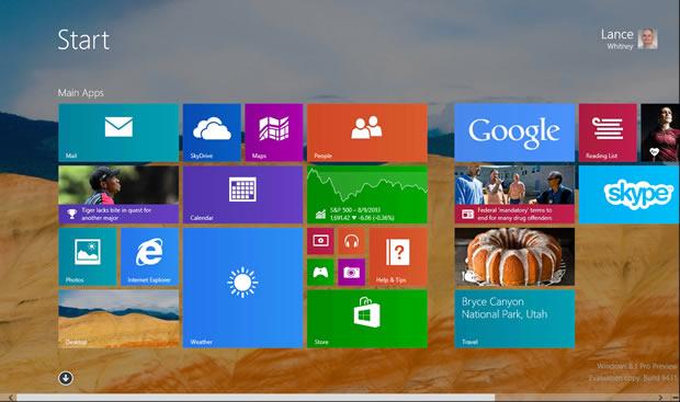 Windows 8.1 bringt ein Tutorial und Tipps zu Anwendungen (Bild: Lance Whitney/CNET).