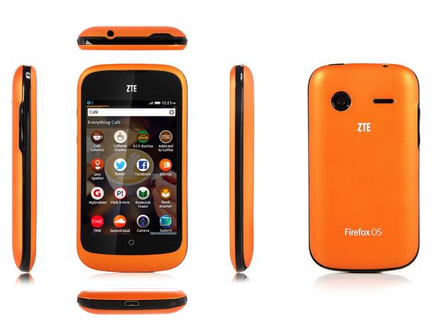 Firefox-OS-Smartphone ZTE Open in USA und Großbritannien ...