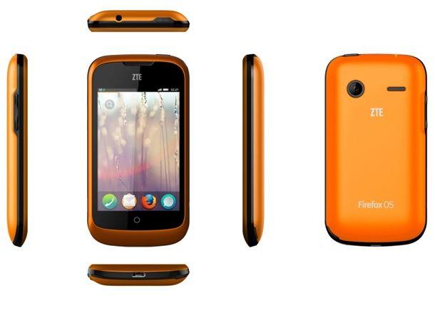 Das erste Firefox-Smartphone ZTE Open ist bald bei Ebay verfügbar (Bild: ZTE).