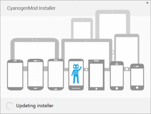 Die kommende Cyanogen-Installer-App soll eine einfache und risikolose Installation ermöglichen (Bild: Cyanogen).