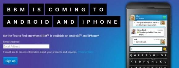 BBM für Android und iOS startet dieses Wochenende (Screenshot: silicon.de).