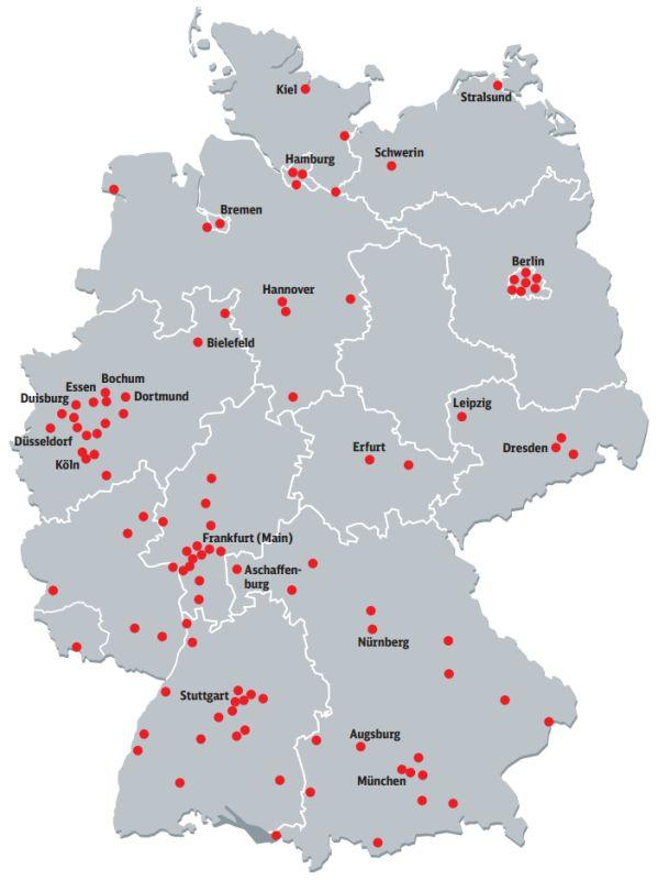 Die Deutsche Bahn bietet jetzt in 105 Bahnhöfen 30 Minuten Gratis-WLAN an (Bild: Deutsche Bahn).
