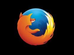 firefox-logo-schwarz (Bild: Mozilla)