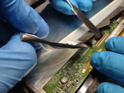 Das Fraunhofer IZM hat 21 Tablet-Modelle demontiert und untersucht, wie recycling- und reparaturfreundlich sie sind (Bild: Fraunhofer IZM).