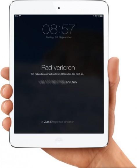iOS 7: Aktivierungssperre