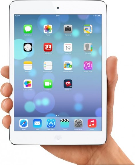 iPad Mini with iOS 7