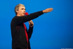 Larry Page 2013 (Bild: CNET)