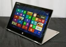 IFA: Lenovo stellt mit Yoga 2 Pro und Thinkpad Yoga zwei Convertibles vor