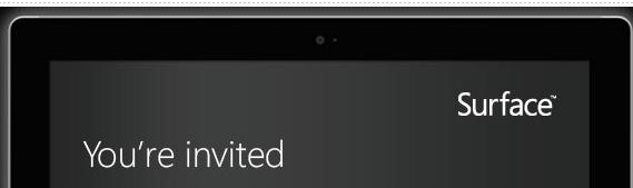 Microsoft lädt zu Surface-Event ein (Bild: Microroft)