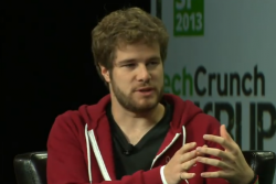 Pebble-CEO Eric Migicovsky  (Bild: Techcrunch-Video)