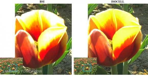 Aufnahmen mit BSI- und Isocell-Technik (Bild: Samsung)
