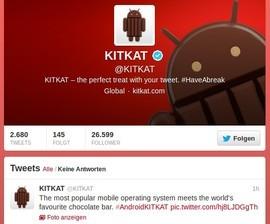 Nestlé nutzt auch Twitter für eine Social-Media-Kampagne (Screenshot: ZDNet.de)