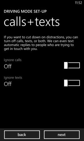 KFZ-Modus unter Windows Phone 8 GDR3