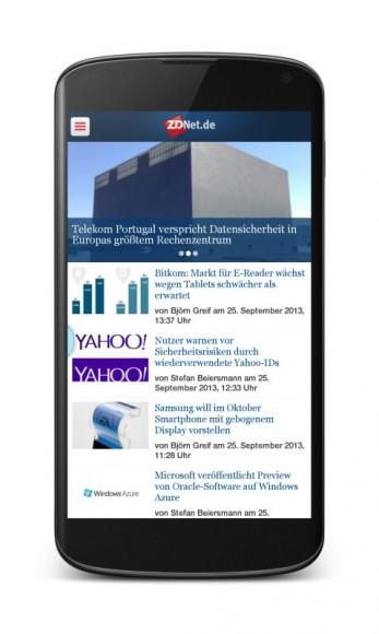 ZDNet-App für Android