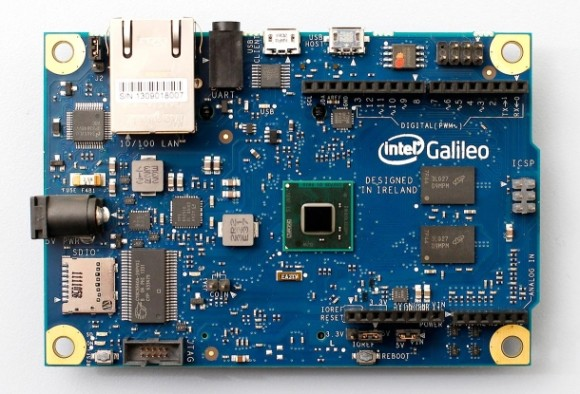 Intels Arduino-kompatibles Entwicklerboard Galileo (Bild: Intel)