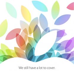 Einladung zu Apples iPad-Event (Bild: Apple)