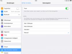 iCloud-Nutzer können wieder Push-E-Mails empfangen (Screenshot: ZDNet.de).