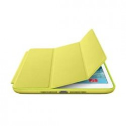 Smart Case in gelbem Leder fürs iPad (Bild: Apple)