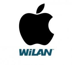 Logos von Apple und WiLAN