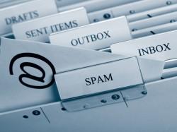 Spam per E-Mail, Telefon und Fax ist in Deutschland rückläufig.