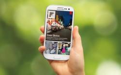 Flipboard- hier noch auf einem Android-Gerät - gibt es demnächst für Windows Phone und Windows 8.1 RT (Bild: News.com).